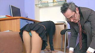 Young slut bent over naked 4