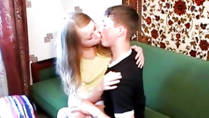 Lok at this honey miniature lassie making out with this really libertine playmate